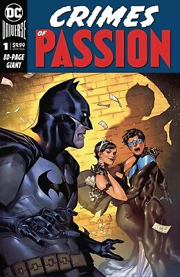 CRIMES OF PASSION #1 Batman Catwoman 2/5/20 Free Shipping Available $9.99 Cover