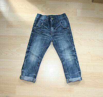 NEXT Boys Blue Chic Distressed Pattern Jeans Sz 4 yrs