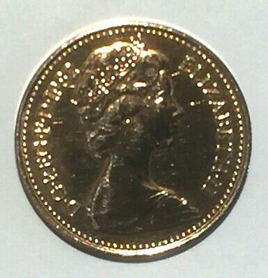 Out Of Circulation Decimal Half Pence Coin 1982