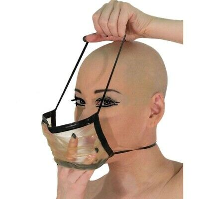 Breathing Mask Sexy Latex Rubber Party Masked Latex Hood Gummi 0.4mm Unique
