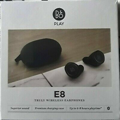 NEW SEALED B&O Play by Bang & Olufsen Beoplay E8 Truly Wireless Earphone Black