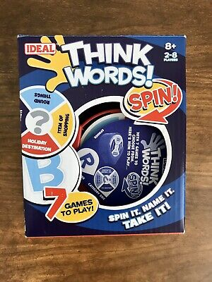 John Adams Think Words Spin Game. Played Once.