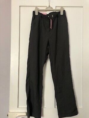 Girls Bnwt Grey School Trousers Age 11-12