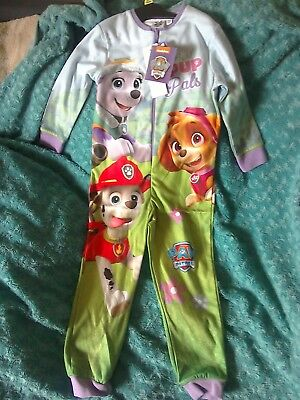 Girls Paw Patrol Pyjamas Age 4-5 Years