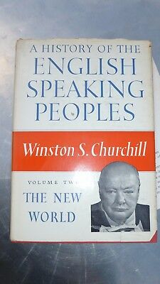 A History of the English-speaking Peoples  Book Volume two Winston S. Churchill