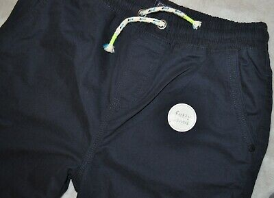 NEXT Boys Navy Blue Casual Trousers Winter Cotton Lined Pockets 13 Years BNWT