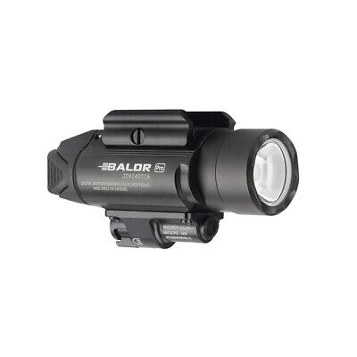 Olight Baldr Pro Black w/ Green Laser Sight and White LED, Black, NEW
