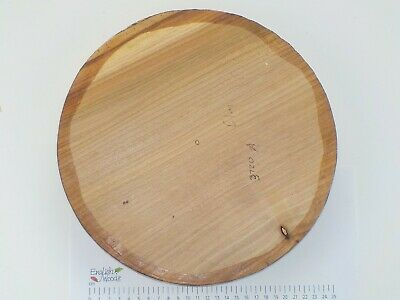 English Elm woodturning or wood carving bowl blank.  280 x 44mm.  3720A
