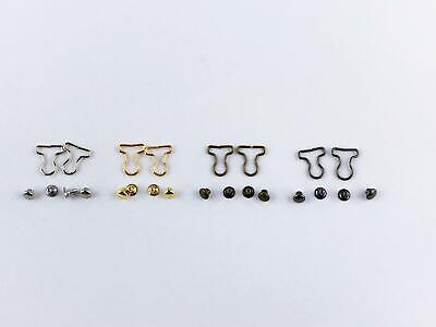 B031 Extra Small Mini Overall Buckles Doll Clothes Sewing Craft Supply For 1/8 S