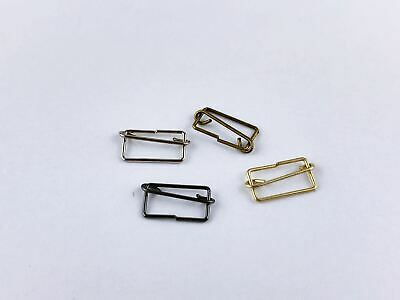 "B039 Mini Overall Buckles Slider For 1/8"" Dolls Sewing Craft Doll Clothes Making"