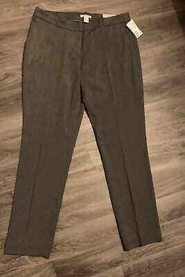 Brand New With Tags Womens Check H&M Trousers Size 16