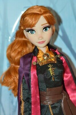 "Anna Frozen II limited edition 17 "" doll disney Store"