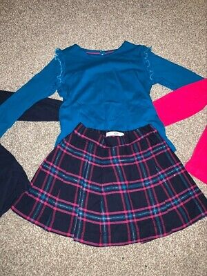Girls Marks And Spencer Skirt And Top Bundle Age 3-4