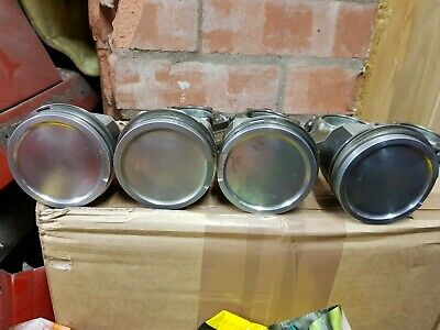Vw Audi 20v Turbo BAM engine pistons and conrods x4