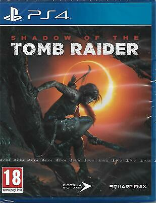 Shadow of The Tomb Raider PlayStation 4 PS4 Edition - New Sealed