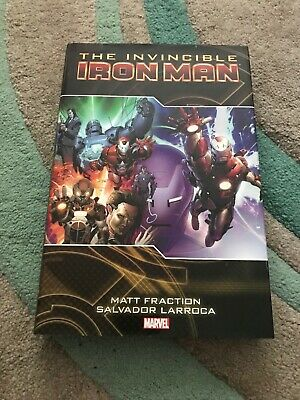 The Invincible Iron Man Volume 2 graphic novel - Oversized HARDBACK Marvel RARE