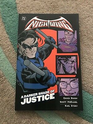 Nightwing: A Darker Shade Of Justice graphic novel TPB - Dixon - DC - 2001 RARE!