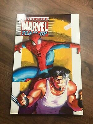 Ultimate Marvel Team-Up Volume 1 graphic novel TPB - Marvel - Bendis - 2001 VGC!
