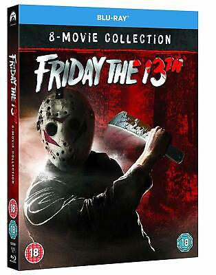 Friday the 13th 1-8 Blu Ray Boxset Collection