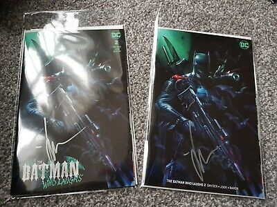 THE BATMAN WHO LAUGHS #2 of 7 MATTINA VARIANT SET (2019) DC UNIVERSE - Signed