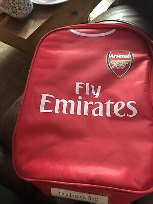 Football Club Childs School Shirt Lunch Bag Kit Boys Sports