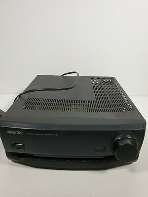 Kenwood A-H5 Stereo Integrated Amplifier Great Condition