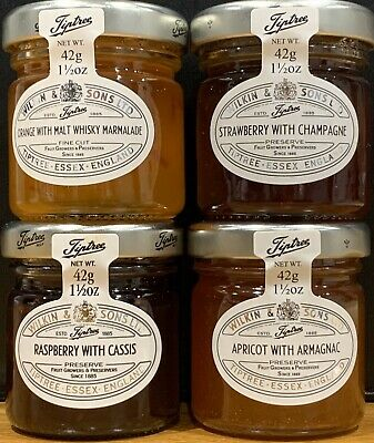 12 x 42g TIPTREE LUXURY PRESERVES 4 OF EACH FLAVOUR, GREAT FOR CHRISTMAS GIFT