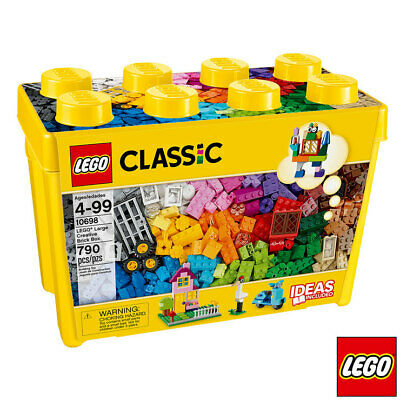 Lego Classic Large Creative Brick Box 790 Pieces 10698 (4+ Years)