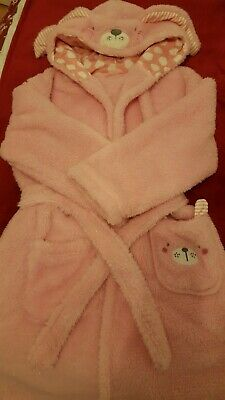 Girls Bunny Dressing Gown From George 9-10 Years