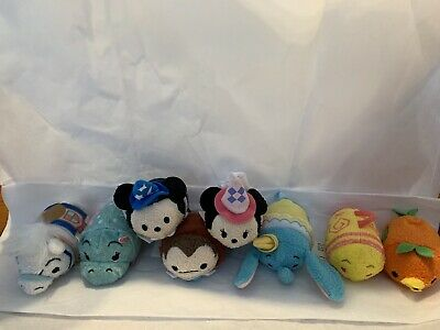 Fantasyland Tsum Tsums Set of 8 Disney Parks Exclusive