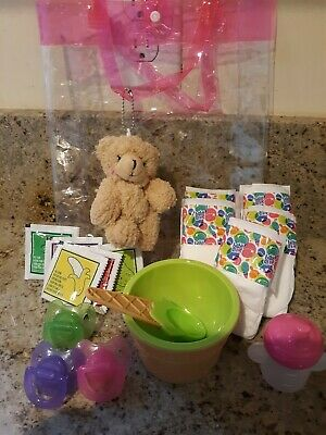 Baby Alive Refill Supplies Happy Hungry Doll GIFT PACK . FOOD PACIFIERS, DIAPERS