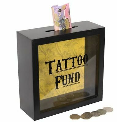 Tattoo Fund  Money Box 18Cm Gift Brand New