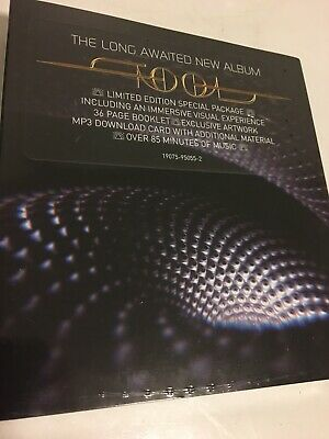 """TOOL Fear Inoculum Limited Edition Deluxe CD 4"""" HD Screen PRIEST BOWING VARIANT"""