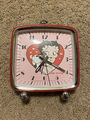 Betty Boop Battery Operated Alarm Clock