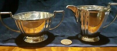 Silver Plate Sugar And Milk Jug Mappin & Webb