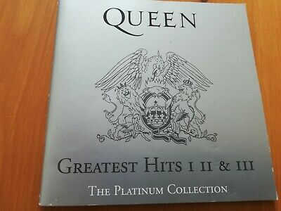 Queen Greatest Hits Booklet