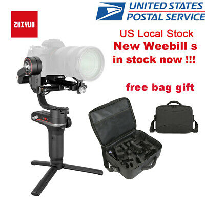 New Zhiyun Weebill S 3-Axis Handheld Gimbal Stabilizer for Mirrorless Camera