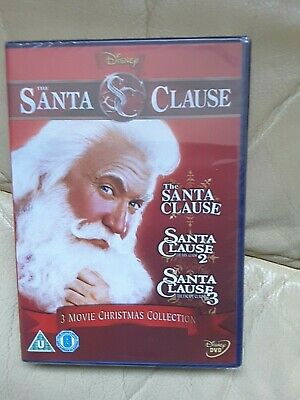 The Santa Clause Movie Christmas Collection of three films brand new sealed
