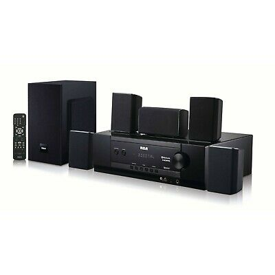 Home Theater System Surround Sound Speakers Receiver Subwoofer Bluetooth