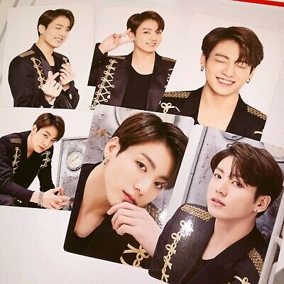 【OFFICIAL MD】BTS SYS LoveYourSelf JAPAN MERCHANDAISE〈MINI PHOTOCARD〉-JUNGKOOK
