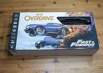 2017 ANKI Fast & Furious OVERDRIVE Race Track Partial Set w Extras FREE SHIPPING