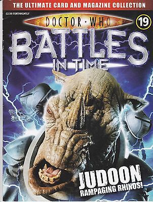 Doctor Who Battles In Time Magazine No 19 Judoon Rampaging Rhinos !