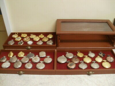 Pocket Watches And Minatures   Collectable   65 Items In Total