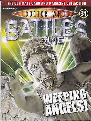 Doctor Who Battles In Time Magazine No 31 Weeping Angels !