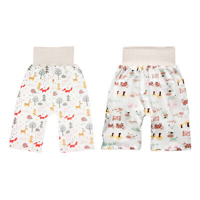 Baby Toddler Training Pants Baby Diaper Underwear Washable Reusable Potty Pants