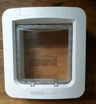 Sureflap Microchip Pet Door / Cat Flap, Full Working Order with RFID Tag