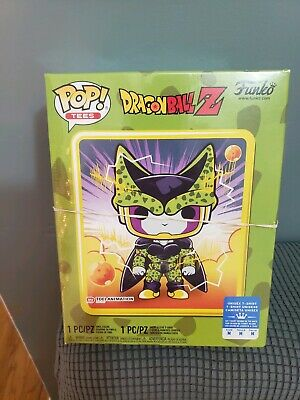 FUNKO POP! DRAGON BALL Z PERFECT CELL BOX SEALED GAMESTOP EXCLUSVE SIZE Medium
