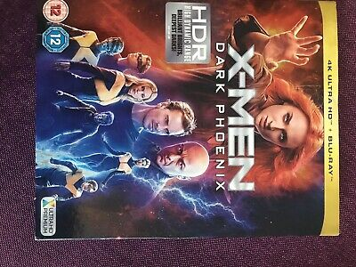 X-MEN Dark Phoenix blu ray Never Played ABC