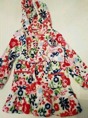Girls Disney Minnie mouse Dressing Gown Size 3-4 Years