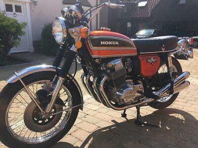 Honda CB750 four, show quality, total nut and bolt restoration simply stunning